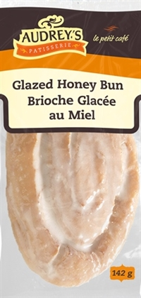 Audrey's Glazed Honey Bun 6/142g Sugg Ret $2.59