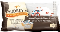 Audrey's Cupcakes Vanilla 2-Pack 6/102g Sugg Ret $2.49