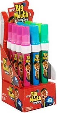 Big Mouth Original Spray Candy 12/20ml  Sugg Ret $3.39