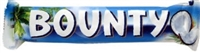 Bounty Coconut Milk Chocolate Bar 24 Sugg Ret $1.79