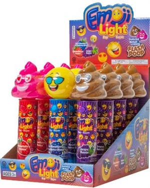 Emoji Light Up Pops with Batteries Included 12/11g Sugg Ret $2.99