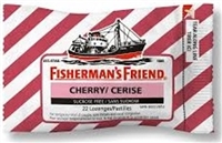 Fisherman's Friend Cherry 16/ Sugg Ret $2.59