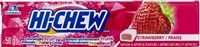 Hi Chew Strawberry Fruit Chews 10/50g Sugg Ret $1.99