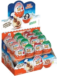 Chocolate Kinder Joy Surprise Egg 32/20g Sugg Retail $2.89