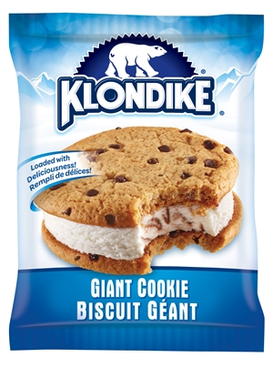 Klondike Sandwich Giant Cookie Ice Cream 24/200ml Sugg Ret ...