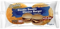 Quality Double Double Cheeseburger 1/326g Sugg Ret $8.59