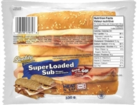 Quality Super Loaded Sandwich 1/330g Sugg Ret $6.99