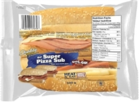 Quality Super Pizza Sub Sandwich 1/330g Sugg Ret $6.99