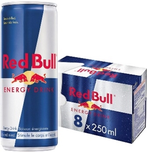 Red Bull 250 ml 8 Pack Suitcase 3/8250ml Sugg Ret $24.99