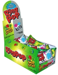 Ring Pop Sour Mystery 24/14g Sugg Ret $1.29