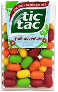 Tic Tac Fruit Adventure 12/29g Sugg Ret $2.39