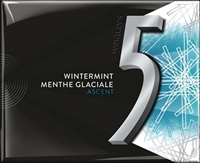 5 Ascent Wintermint Gum 10/15 pcs Sugg Ret $2.59