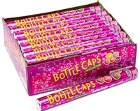Wonka Bottle Caps Roll 24/50g Sugg Ret $1.89