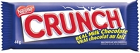 Crunch Chocolate Bar 36/g Sugg Ret $1.89