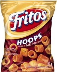 Frito 57g BBQ Hoops 40's Sugg Ret $1.50