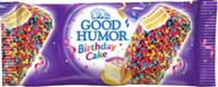 Good Humor  Bar Birthday Cake Dessert Bar 24/113g Sugg Ret $3.29