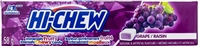 Hi Chew Grape Fruit Chews 10/50g Sugg Ret $1.99