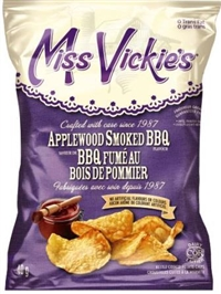 Miss Vickie's 40g Applewood Smoked BBQ Kettle Potato Chip 40's Sugg Ret $1.50
