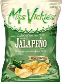 Miss Vickie's 40g Jalapeno Kettle Potato Chip 40's Sugg Ret $1.50