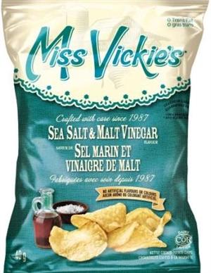 Miss Vickie 39 S 40g Sea Salt Malt Vinegar Kettle Potato