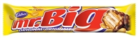 Mr Big Chocolate Bar 24/60g Sugg Ret $1.59