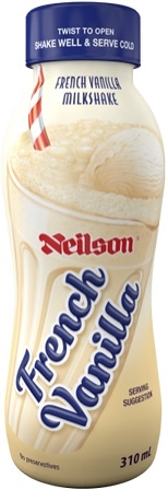 Neilson French Vanilla Milk Shake 12/310ml Sugg Ret $2.59***LIMITED QUANTITY***