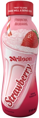 Neilson Strawberry Milk Shake 12/310ml Sugg Ret $2.59***LIMITED QUANTITY***
