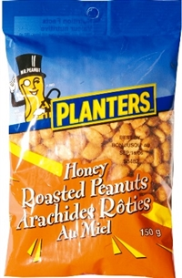 Planters 150g Honey Roasted Peanuts 12/150g Sugg Ret $2.99
