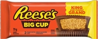 Reese Big Cup Peanut Butter 16/79g Sugg Ret $2.59