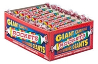 Rockets Candy Roll 24ct Sugg Ret $1.19