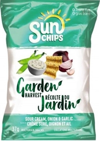 SunChips 37g Garden Harvest Sour Cream, Onion & Garlic 40's Sugg Ret $1.50